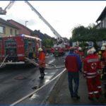 Dachstuhlbrand in Astfeld am 31.05.2015